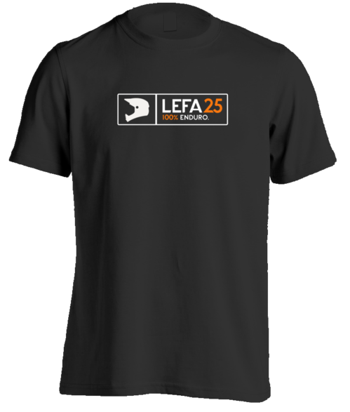 Lefa25 100% enduro T-shirt