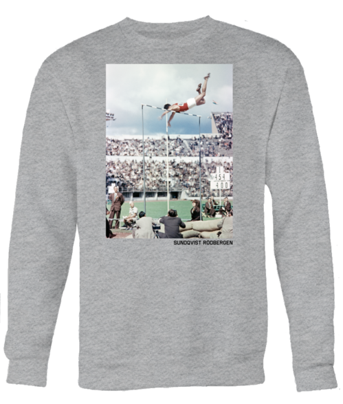 OLYMPIC POLE VAULTER, Unisex grey sweatshirt