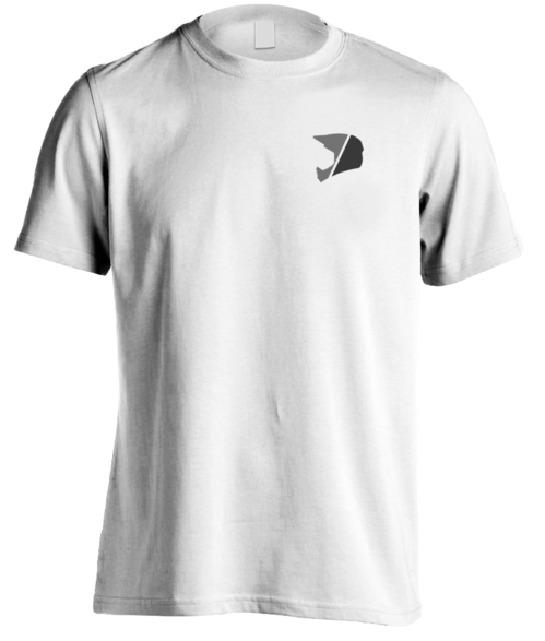 Sliced Grey Logo T-Shirt