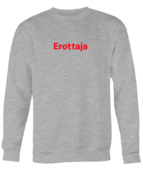 Erottaja Bar — Unisex Red logo Sweatshirt