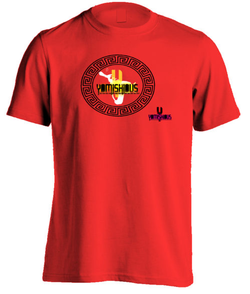 GOLDEN LIGHT - Men Tee - Red