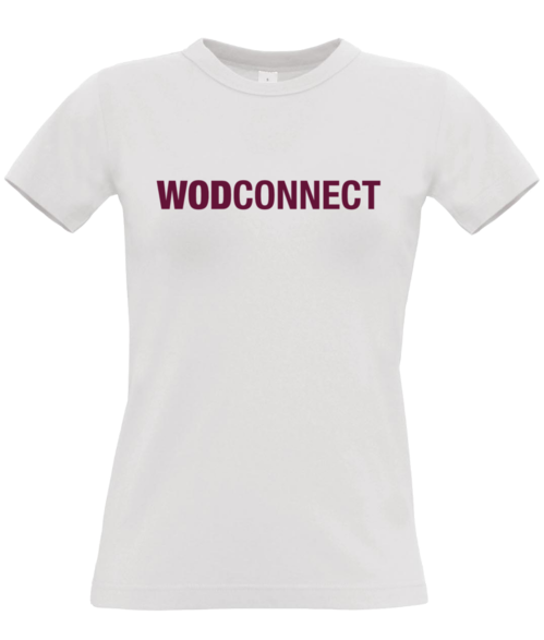 "WODconnect ""Red Logo"" Women's Tee"