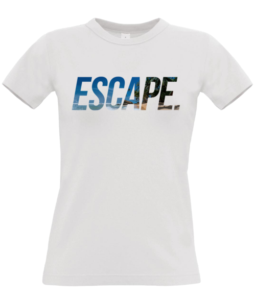 ESCAPE. T-shirt for women.