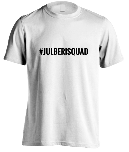 #JulberiSquad T-SHIRT for men