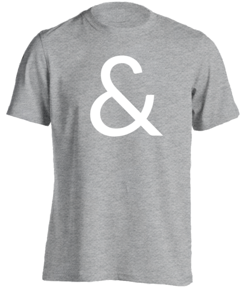 """Ampersand"" T-Shirt"
