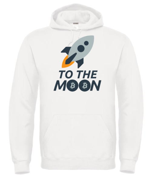 To the moon huppari unisex