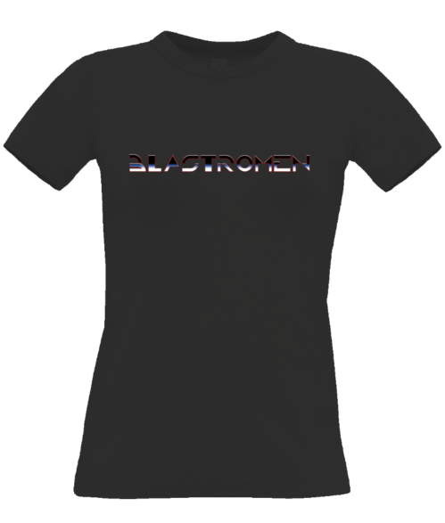 T-shirt women Logo Tron