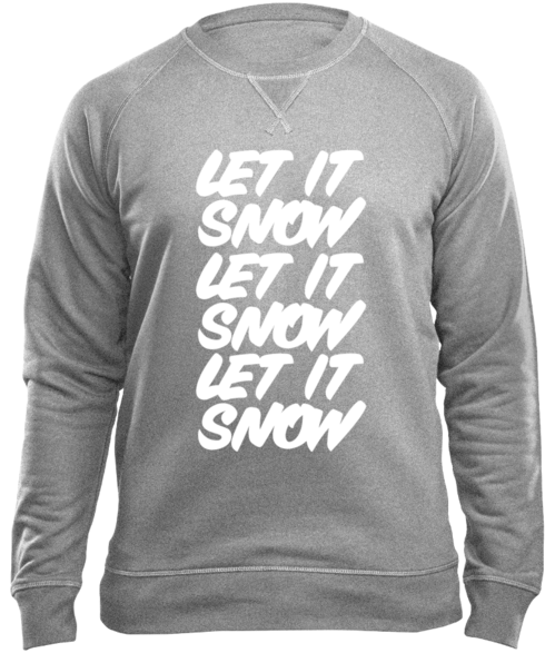 "Sweatshirt ""Let it Snow"" XS–XXL"