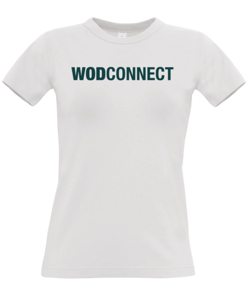 "WODconnect ""Green Logo"" Women's Tee"