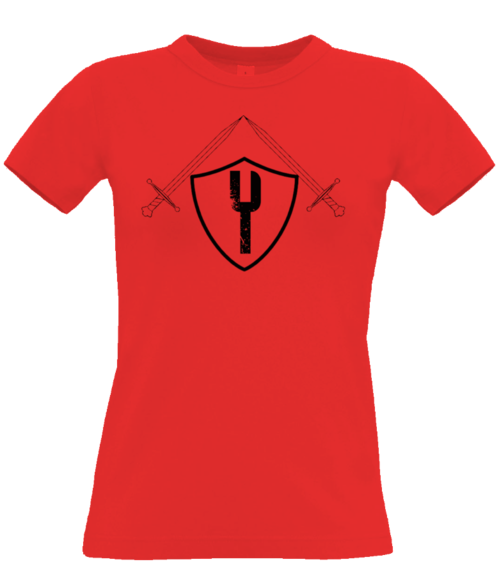 The Knight - Womens Tee - Red