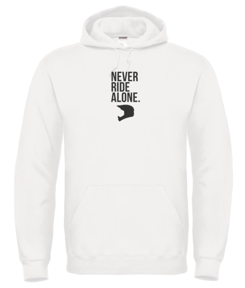 Never Ride Alone Hoodie