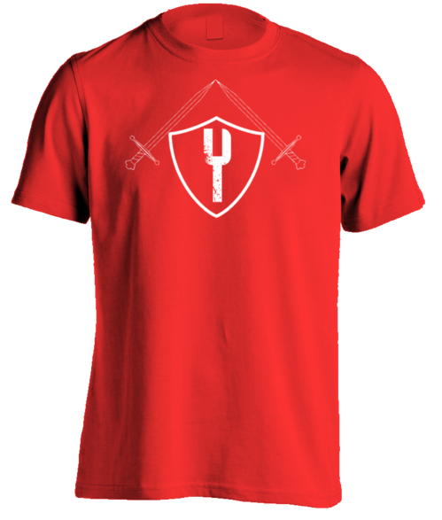 The Knight - LIMITED EDITION - Mens Tee - Red