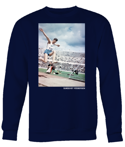 OLYMPIC TRIPLE JUMPER, Navy UNISEX SWEATSHIRT