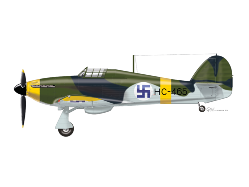 Hurricane HC-465, profile