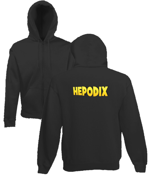 Hepodix 1 zipper hoodie for women