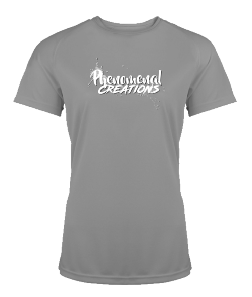 PC Sport Shirt - White text - Women