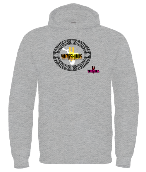 GOLDEN LIGHT - Hoodie - Grey