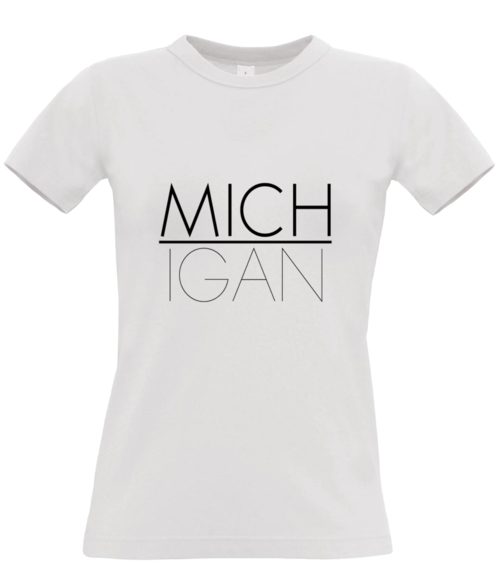 MICHIGAN Regular Women's T-Shirt