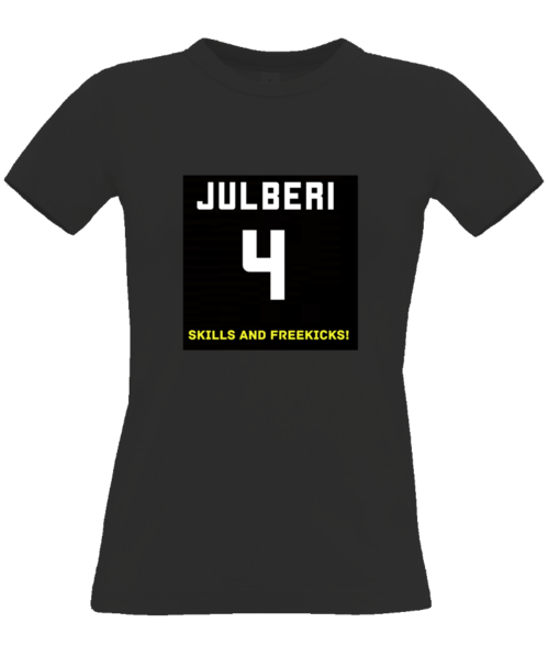 Julberi #4 logo T-SHIRT for women