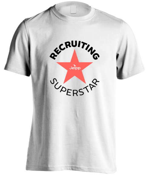 Recruiting Superstar - Premium T-shirt White