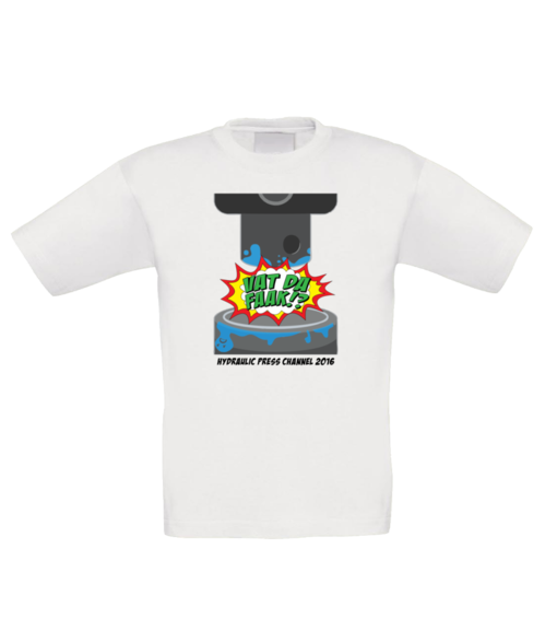 Vad Da Faak #1 t-shirt children, black text