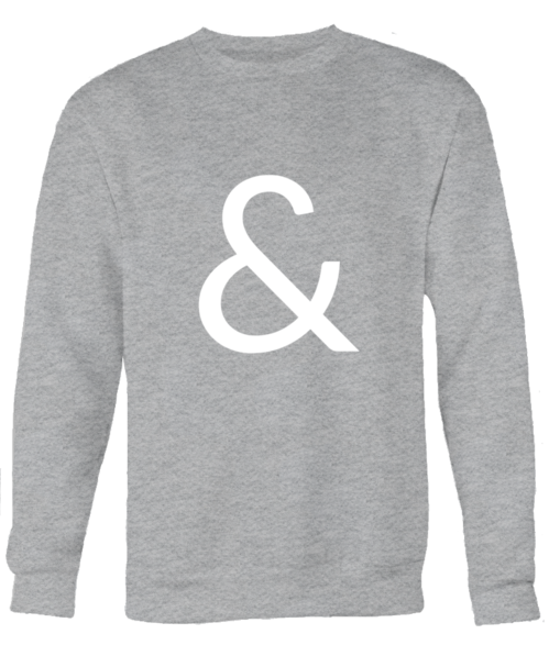 """Ampersand"" Sweatshirt"