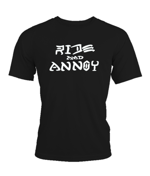 Ride and annoy black/grey