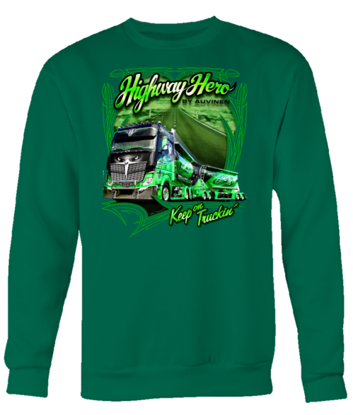 Highway Hero - Keep on Trucking Long Sleeve