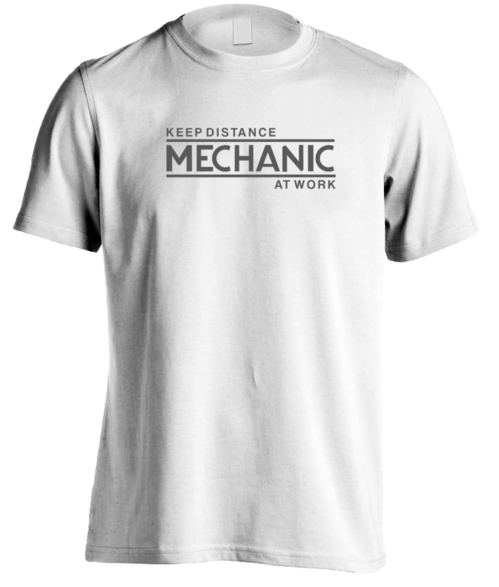 Mechanic At Work T-Shirt