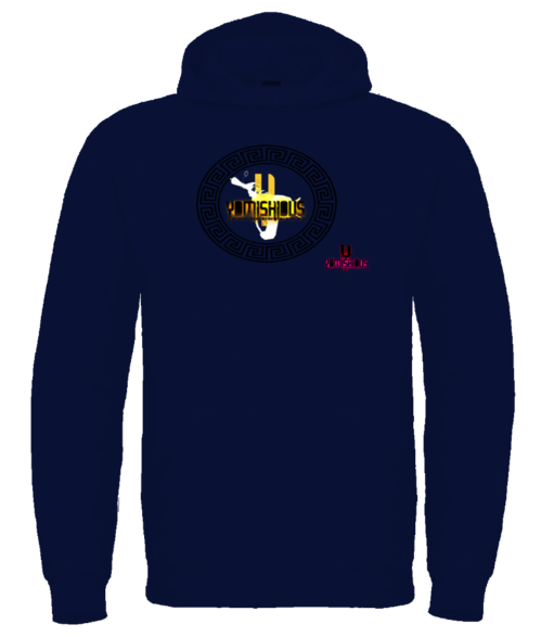 GOLDEN LIGHT - Hoodie - Navy