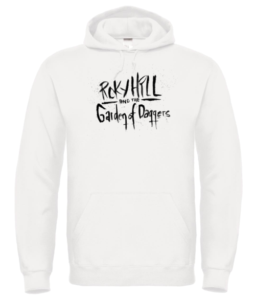 Roky Hill & The Garden Of Daggers / text logo hoodie