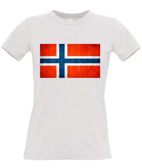 T-shirt Women - The Norwegian flag