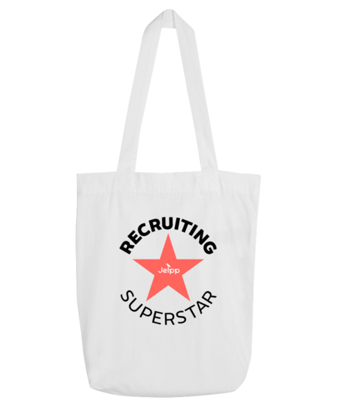 Recruiting Superstar - Tote Bag White