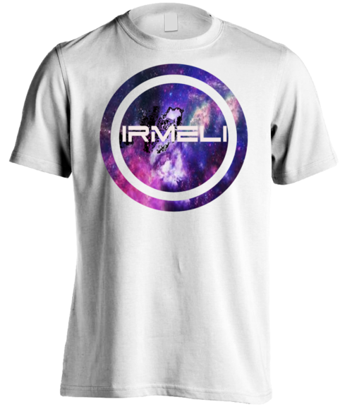 T-shirt With IRMELI galaxy logo
