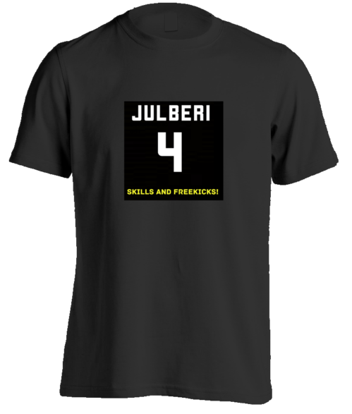 Julberi #4 logo T-SHIRT for men