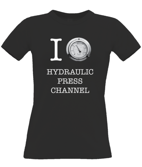 I (crush) Hydraulic Press Channel dark