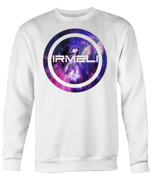 SweatShirt with IRMELI galaxy Logo