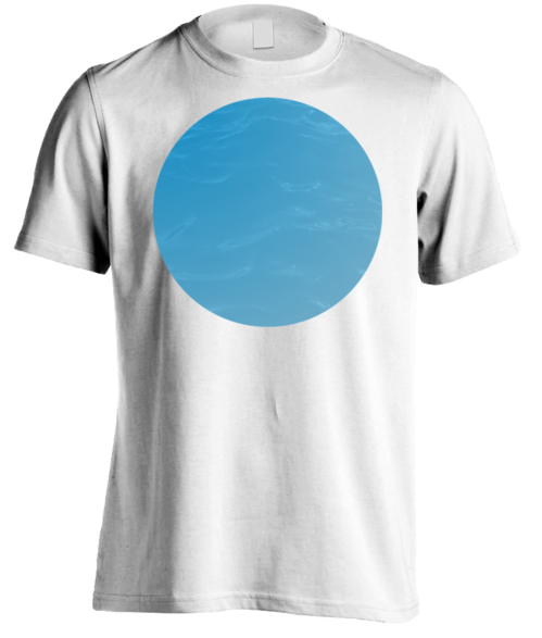 T-SHIRT WITH SPHERE PRINT