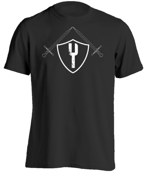 The Knight - LIMITED EDITION - Mens Tee - Black