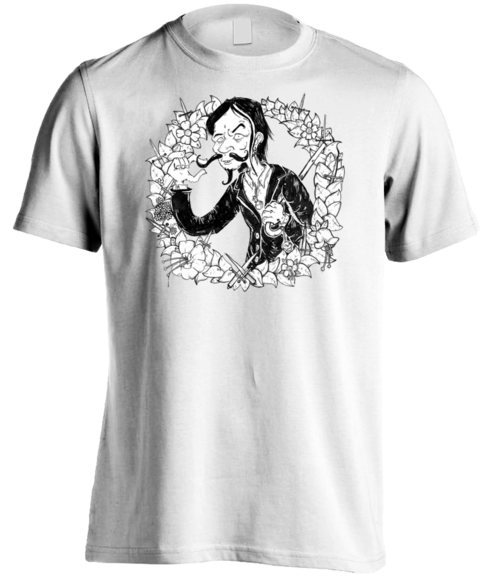 Roky Hill & The Garden Of Daggers / Roky Hill drawing t-shirt men