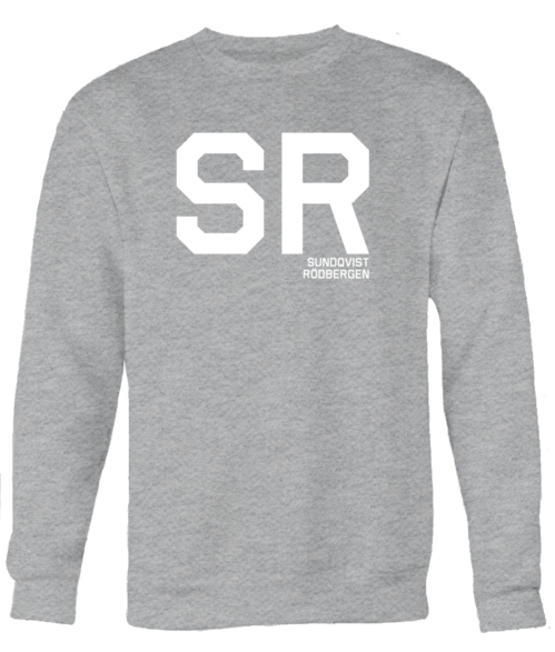 SR, UNISEX Grey SWEATSHIRT
