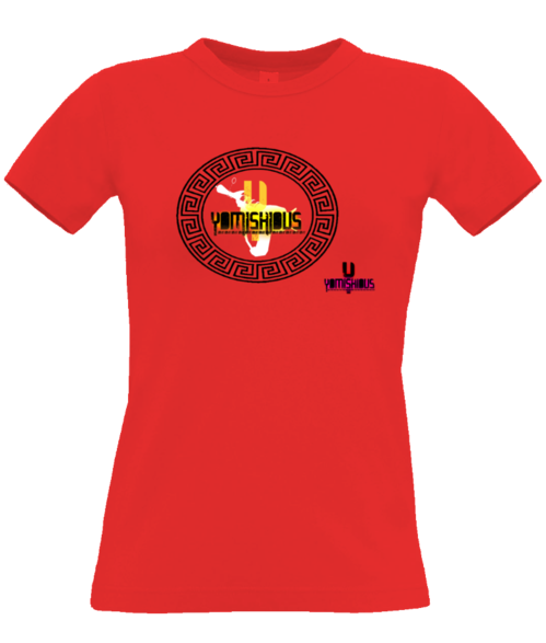 GOLDEN LIGHT - Women Tee - Red