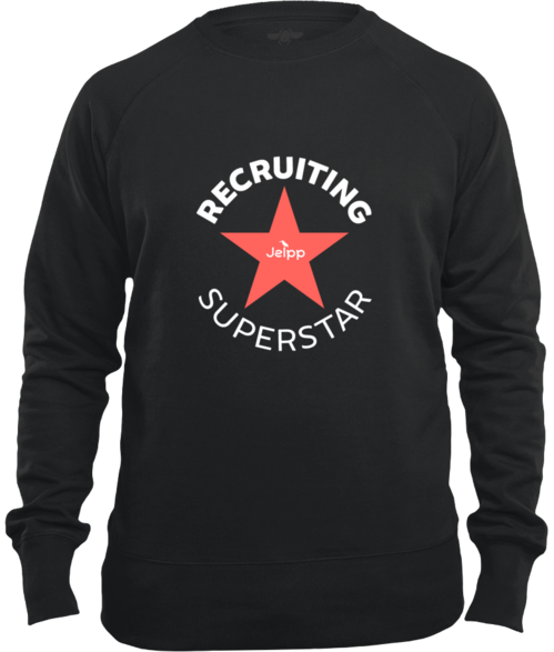 Recruiting Superstar - Unisex Premium Sweatshirt Color