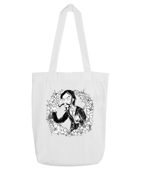 Roky Hill & The Garden Of Daggers / Roky Hill drawing tote bag