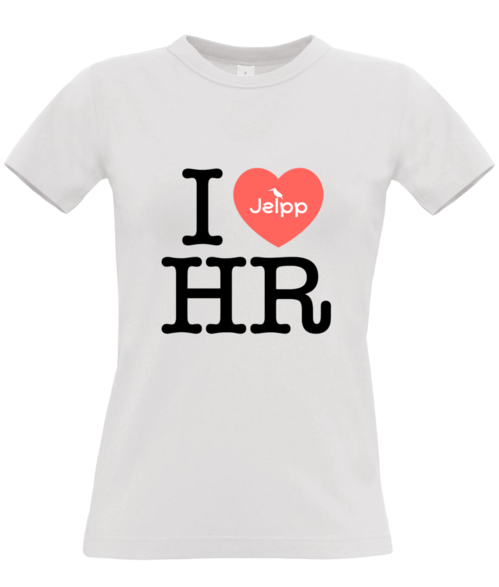 I Love HR - Women's T-shirt White