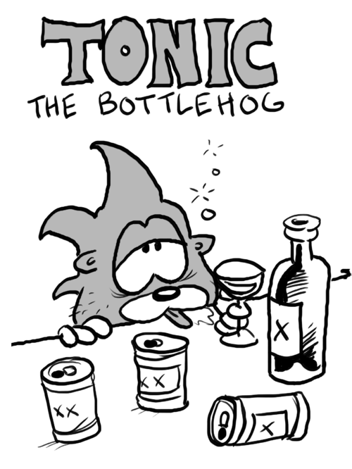 Tonic The Bottlehog