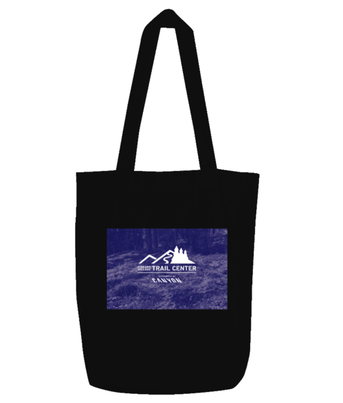 Tote bag – logo with background